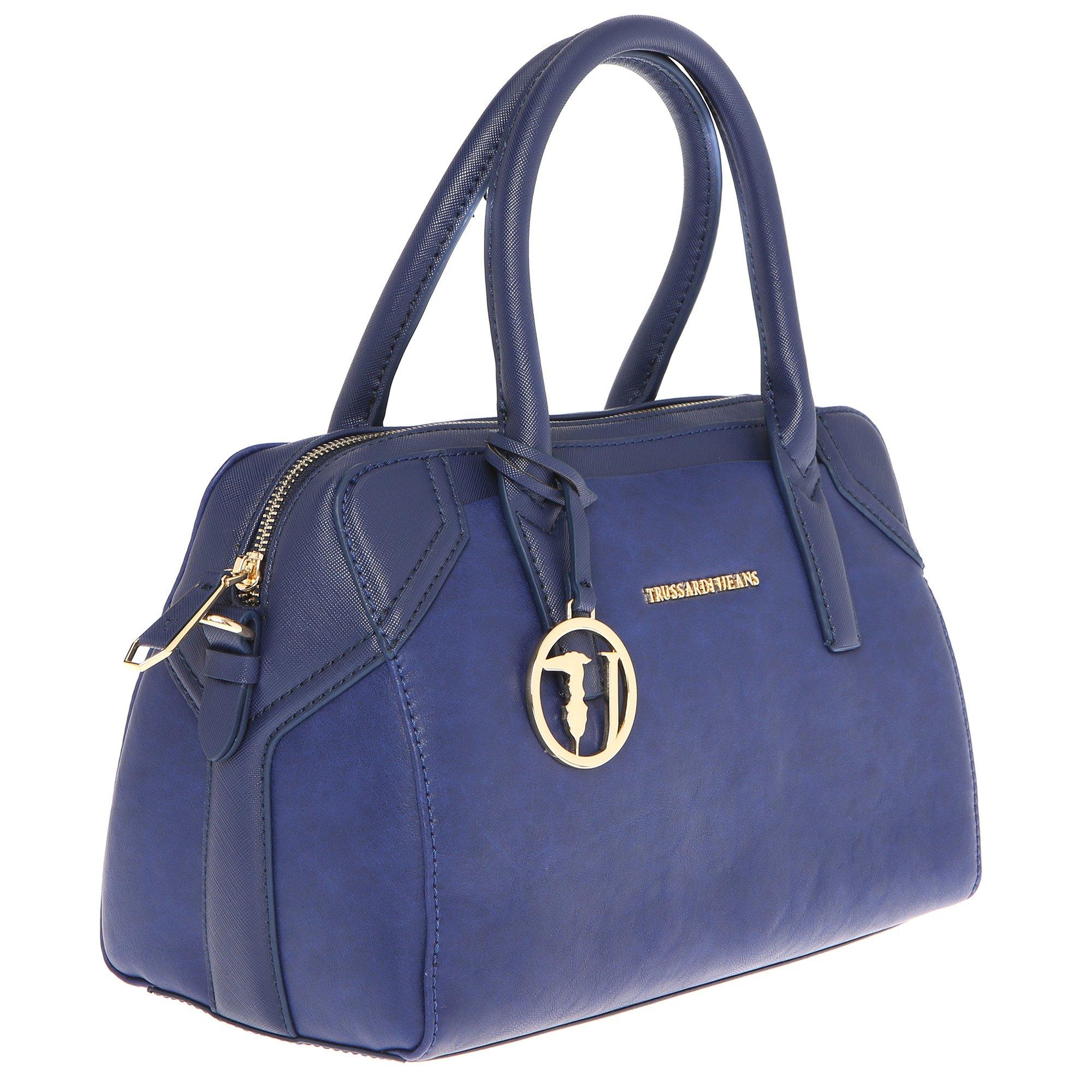 negozio online 7418d f5c06 Trussardi Jeans Borsa a Mano Bauletto da Donna con Tracolla ...