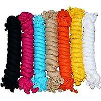 Nakoda Creation Women's (Cotton Dupatta_Pack of 7_Multi_One Size)