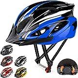 RaMokey Casco de bicicleta para adultos, hombre y mujer, cuerpo de poliestireno expandido + carcasa de policarbonato, casco d