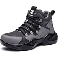 SUADEX Safety Work Boots Lightweight Steel Toe Cap Trainers Shoes Mens Women Breathable