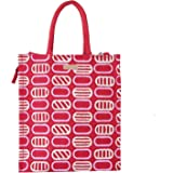 ECOTARA Marvel Classic Printed Multipurpose Eco Friendly Natural Jute Bag with Closing Zipper and Bottle Holder (30 X 26 X 1.