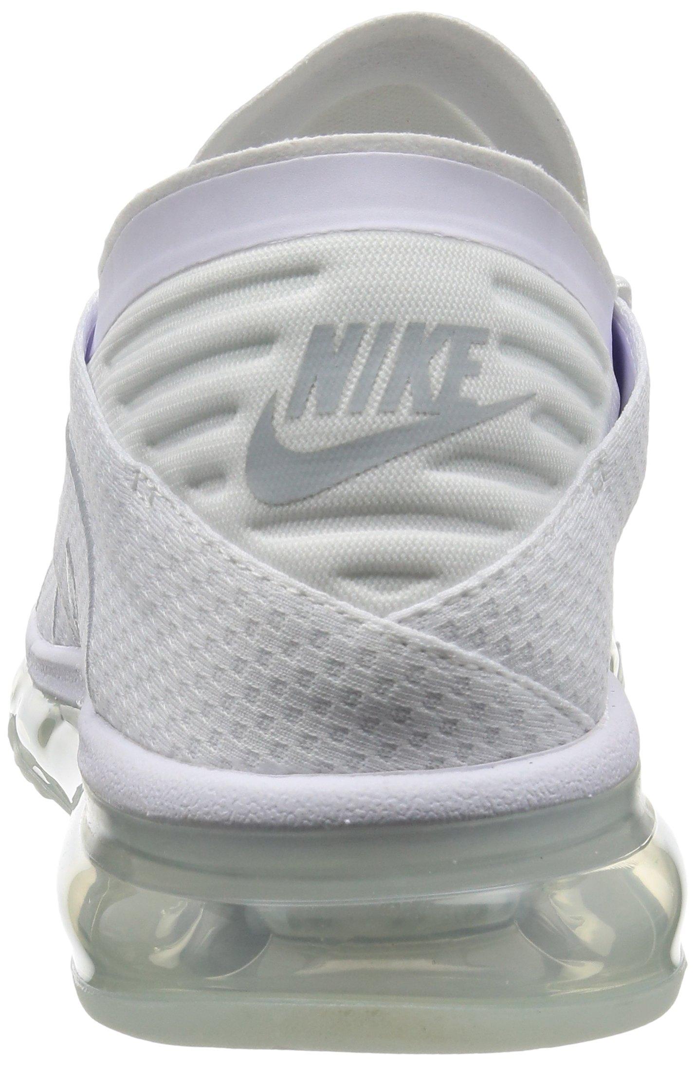 81gQyRC9AbL - Nike Mens - Air Max Flair - Triple White - 942236-100