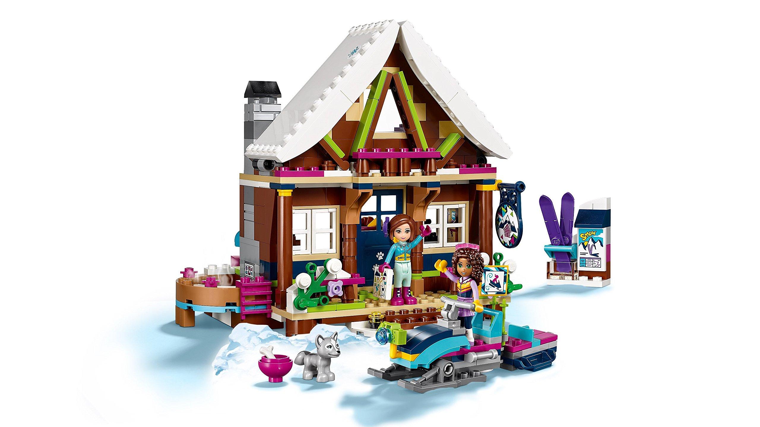 LEGO- Friends Lo Chalet del Villaggio Invernale, Multicolore, 41323 4 spesavip