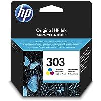 HP 303 Tricromia (T6N01AE) Cartuccia Originale per Stampanti HP a Getto di Inchiostro, Compatibile con Stampanti HP…