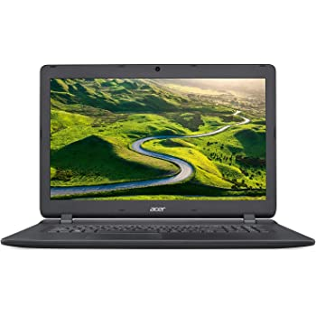 "Acer Aspire ES1-732-P6XT PC Portable 17"" Noir ( Intel Pentium, 4 Go de RAM, Disque Dur 1 to, Intel HD Graphics 505, Windows 10)"