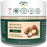 The Organic Forest ANTI-HAIRFALL MASK – Enriched with Organic Moroccan Argan Oil, Shea Butter & Bergamot Oil - Certified…