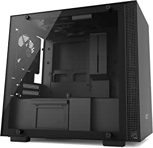 Nzxt H200 Mini Itx Gaming Pc Case Tempered Glass Computers Accessories
