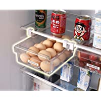 HapiLeap réfrigérateur Organiseur de tiroir Design Unique Pull Out bacs pour réfrigérateur Support Boîte de Rangement de…