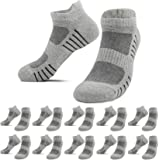 YouShow 10 pairs of cotton sports socks for men and women short socks