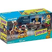 Playmobil - Scooby-Doo! Salle de Diner avec Sammy - 70363