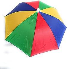 Mk Retails Hat Umbrella for Kids Multicolor