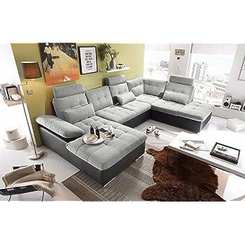 Ecksofa Sofaecke Wohnlandschaft Couch U Form Couchgarnitur