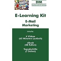 E-Mail Marketing - E-Learning Kit bestehend aus 6 Videoaufzeichnungen + 1 E-Book + 1 Transferhilfe
