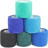 MUEUSS Vet Wrap Zelfaanhankelijke Cohesieve Bandages Zelfklevende Bandage EHBO Wrap Niet-geweven Elastische Bandage voor Dier