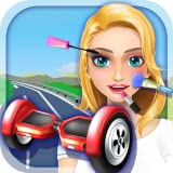 Girl Hoverboard Simulator - Makeup & Dressup Salon Game FOR FREE