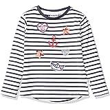 Salt & Pepper Maritime Applikationen Mit Stickerei Und Pailletten Camisa Manga Larga para Niñas