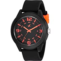 Fastrack Analog Black Dial Unisex Watch-NG38003PP13W / NG38003PP13W