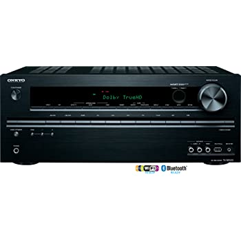 Onkyo TX-NR525 5.2-Channel Network Audio/Video Receiver (Black)