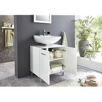 Bmg Mobel Waschbeckenschrank Unterschrank Badschrank Badezimmer
