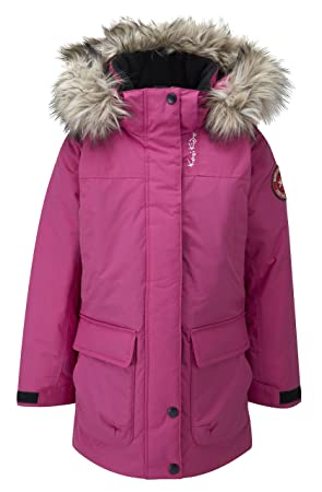 Kozi Kidz Girls' Alaska Parka Coat: Amazon.co.uk: Sports & Outdoors