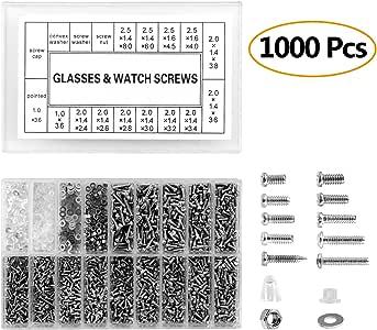 1000pc Piccolo 12 Tipi di Vite Dadi Electronics Assortimento Kit Acciaio
