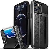 "VENA vCommute Funda Cartera Compatible con Apple iPhone 12 Pro MAX (6.7""-Inch), (Military Grade, Ranuras para Tarjetas) Carca"