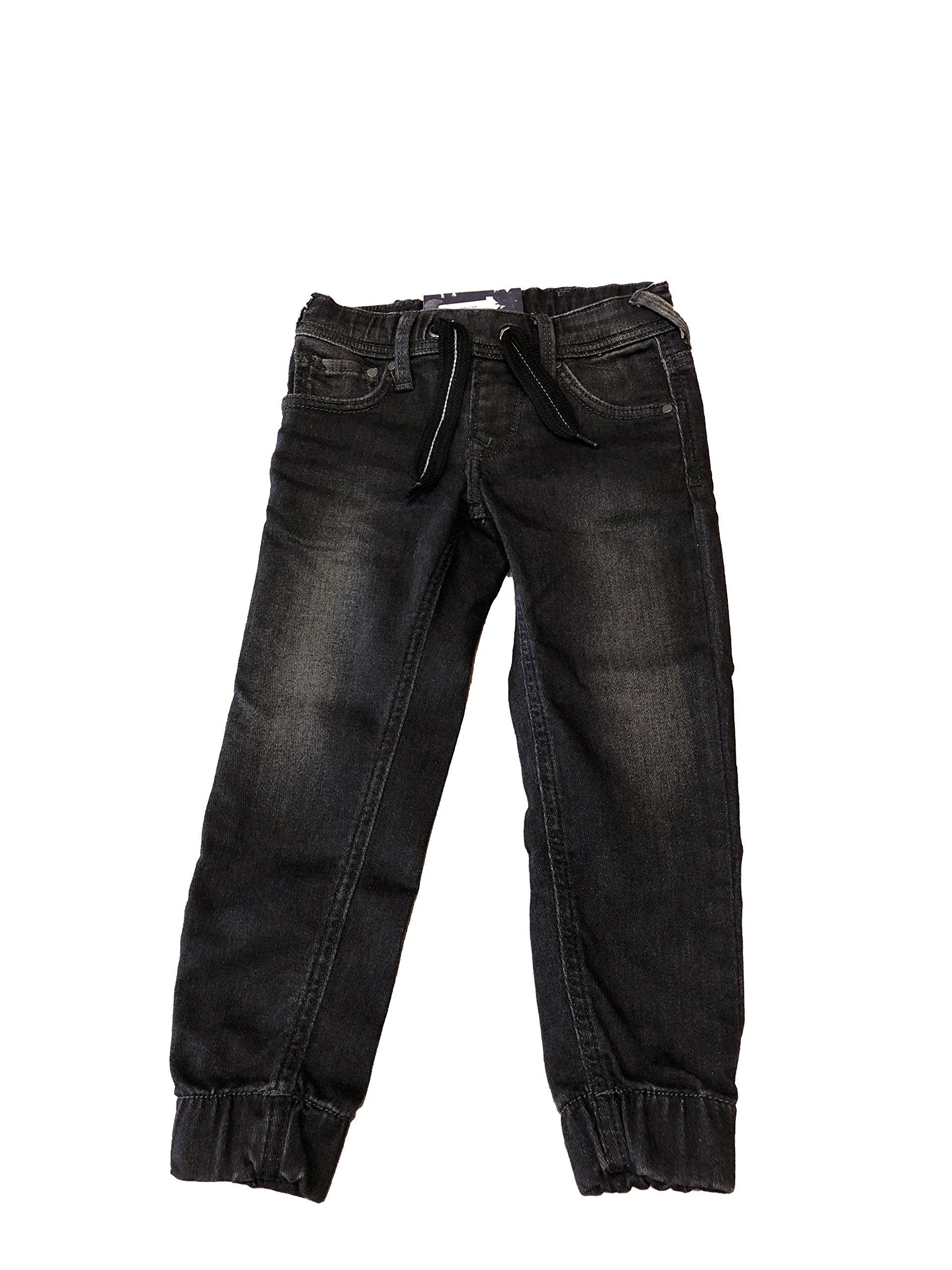 Pepe Jeans – Pantalones- Taper- Sprinter- Negros
