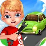 Garage meccanico Riparare Auto - Miglior gioco gratuito per imparare e giocare per tutti coloro che amano le auto e li fissano.
