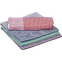 """COMFORT WEAVE Cotton Bath Towels Pack of 4 PCS 29""""x58"""" (Multicolor)"""