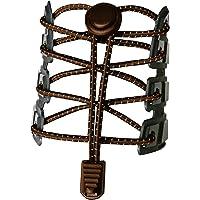 Canwn [3 Paar] Elastische Schnürsenkel mit Schnellverschluss, Reflektierend Schnellschnürsystem mit 120cm Länge für…