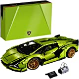 LEGO Technic Lamborghini Sián FKP 37 (42115), Building Project for Adults, Build and Display This Distinctive Model, a True R