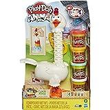 Play-Doh Animal Crew Cluck-a-Dee Crazy Chicken Boerderij Speelset - Met 4 Play-Doh Kleuren