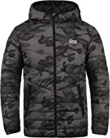 JACK & JONES Originals Jacco Herren Winter Jacke Steppjacke Winterjacke gefüttert mit Kapuze