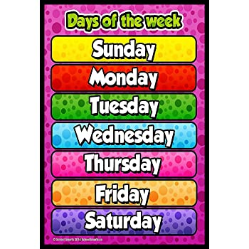 idecor Month of The Year Chart for Kids - Child Learning ...