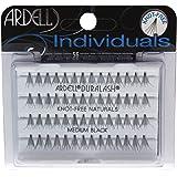 Ardell Individuals Medium, het origineel (knoopvrij) zwart, per stuk verpakt (1 x 56 stuks)