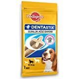 Pedigree Dentastix Medium Breed (10-25 kg) Oral Care Dog Treat (Chew Sticks) (7 Sticks) 180g Weekly Pack