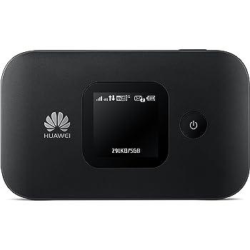 HUAWEI, MOBILE ROUTER E5577C 4G LTE CAT.4 FINO A 150 mbps, Wifi portatile mobile 2.4 e 5.0 Ghz
