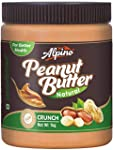 Alpino Natural Peanut Butter Crunch 1Kg (Unsweetened)