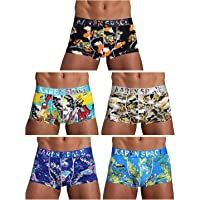 Arjen Kroos Men's Sexy Boxer Briefs Shorts Hipster Pouch Trunks Underwear