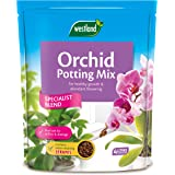 Westland 1020052 Orchid Potting Compost Mix and Enriched with Seramis, 4 L, Brown