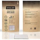 Goalsis - Gamuzas Microfibra Antivaho | Premium | Sin necesidad de liquidos adicionales | Toallita de uso en seco, para GAFAS