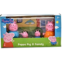 A3 Creations® Peppa Pig Figure 4 Pack, Family Pack