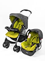 Graco BK Baby Travel System Rock Green - 1879073