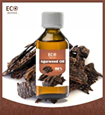 Agarwood Oil (Oud Oil) 100% Natural, Organic, Vegan & Cruelty Free Essential Oil By Eco Aurous (15 ml)