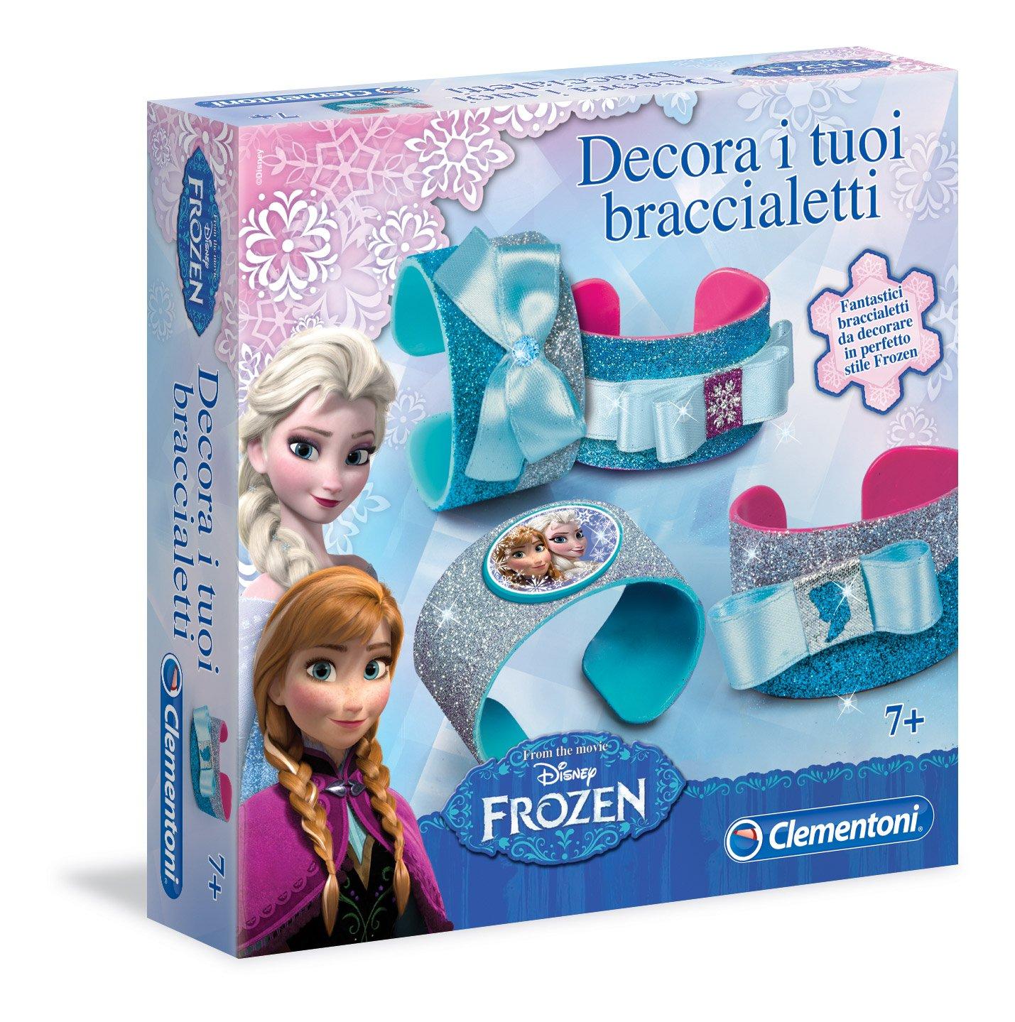Clementoni 15214 - Frozen Decora I Tuoi Braccialetti