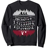 Netflix Stranger Things Alphabet Lights Sweatshirt