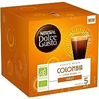 Nescafé Dolce Gusto Lungo Colombia Bio - Café - 72 Capsules (Pack de 6 boîtes x 12)