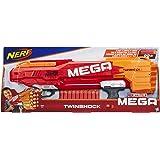 Hasbro Nerf B9894EU4 - Mega Twinshock, Spielzeugblaster