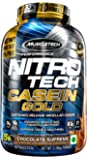 Muscletech Performance Series Nitrotech Casein Gold (71 Servings, 24g Protein, 10g BCAAs, 10g Glutamine & Precursor) - 5…