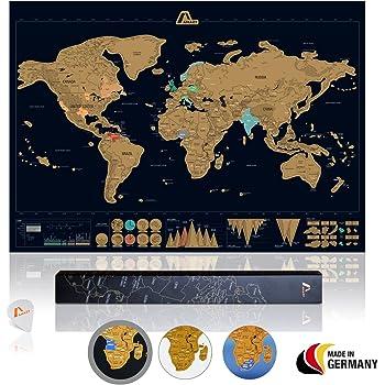 Weltkarte Zum Rubbeln Grosse Detaillierte Rubbel Weltkarte Poster